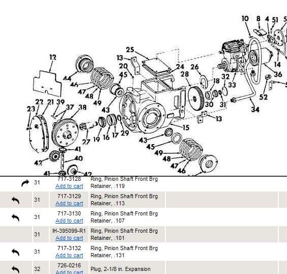 30 Cub Cadet Original Parts Diagram